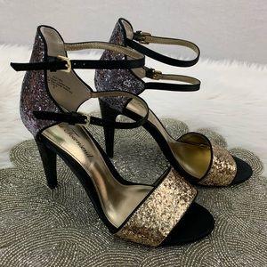 Lulu Townsend Glitter Pumps Size 8
